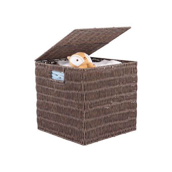 Picture of BARTIS Basket 28x27x27cm. BN