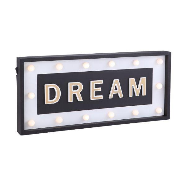 Picture of DREAMLIGHT Light sign BK