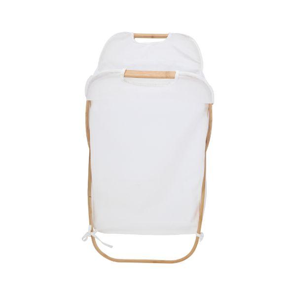 Picture of LAUNNA Laundry basket 40x41x68 cm. WT/NT