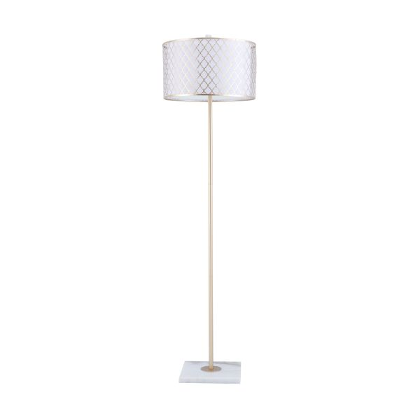 Picture of AVIANNA Floor lamp D39xH149cm. WT/GD