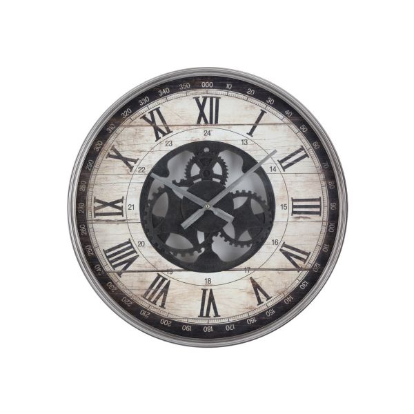 """Picture of REMINGTON Wall Clock 23.5"""" BN"""