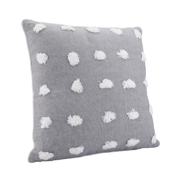 Picture of CRAFY-FUZZY Cushion 45x45cm GY