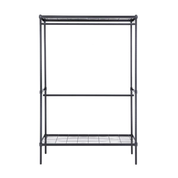 Picture of WIRENET CLOTHES SHELF2BARS#12045180 BK