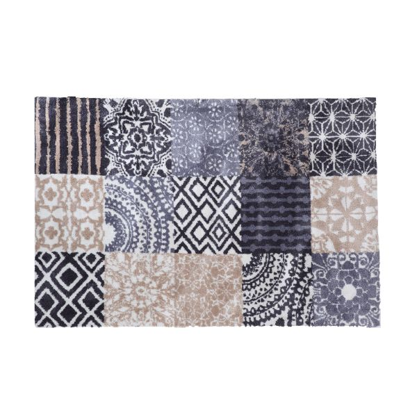 Picture of FOLK MIX AREA RUG 120X180CM LBN