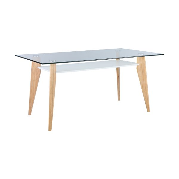 Picture of BRIGHTON dining table glass 160cm  NT