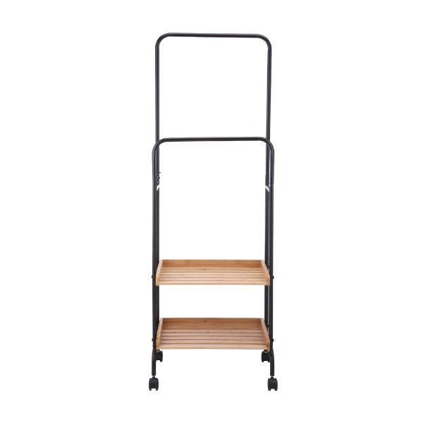 Picture of TYRES 2 Tiers storage cart+towel rack NT