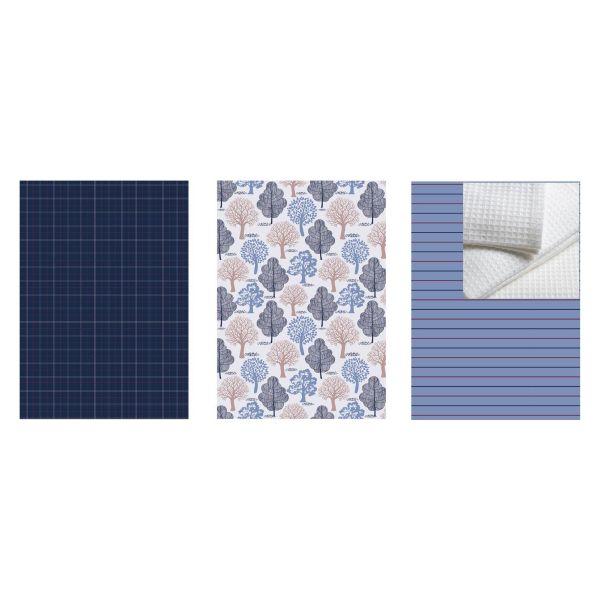 Picture of ARI Kitchen towel 3pcs/set 45x65cm. MTC