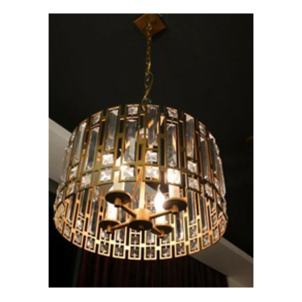 Picture of ORVALON Chandelier D42xH45cm GD/CG