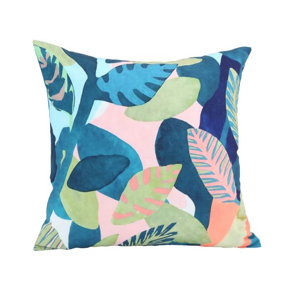 Picture of ARTISTIC-LEAF Cushion 45x45cm GN