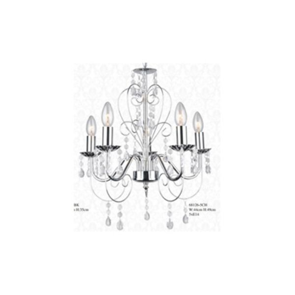 Picture of SHANDRA Chandelier 44x44x49 cm. SV