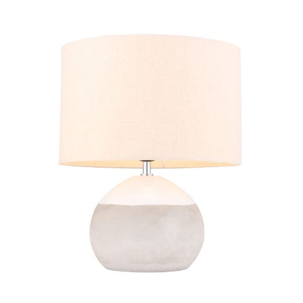 Picture of SILAS Table Lamp WT