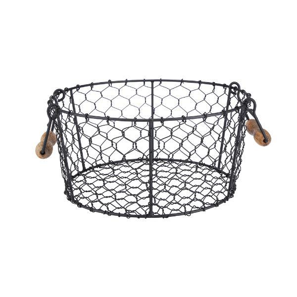 Picture of BREEANA Fruit Basket D30xH14cm. BK