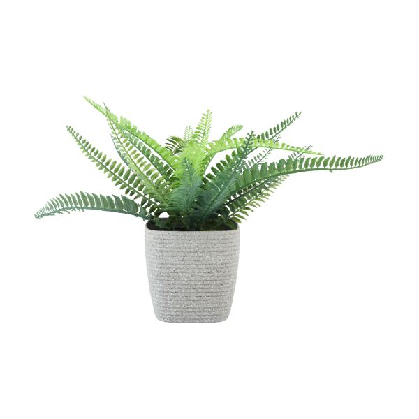 Picture of SACHI Plastic plant pot 12x12x11.5cm BE