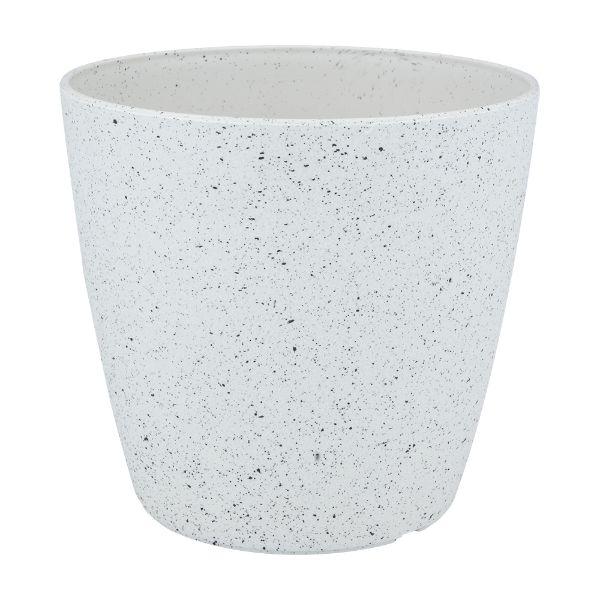 Picture of SACHO Plastic plant pot 18x18x17cm WT