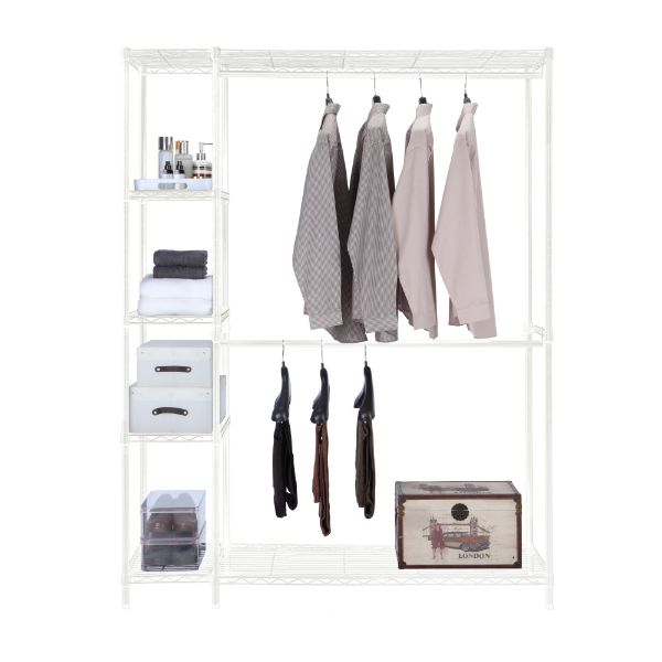 Picture of ONDRIA Cloth rack 138x45x180cm WT