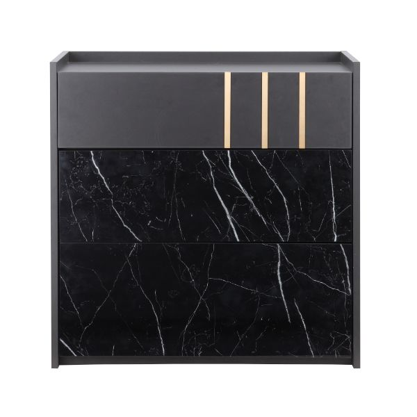 Picture of MARQUINA 3 drawer 80 cm. BK/MB