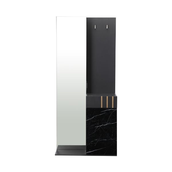 Picture of MARQUINA Dressing Table 80cm BK/MB