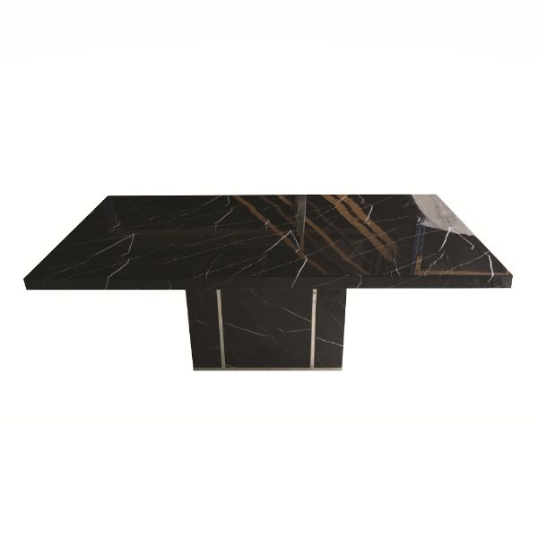 Picture of MAZZINI/P Marble dining table 200 BK