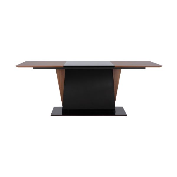 Picture of SIDON Dining table  WN/BK