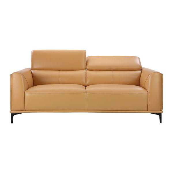 Picture of TEMPIO Half leather 3/S sofa YL