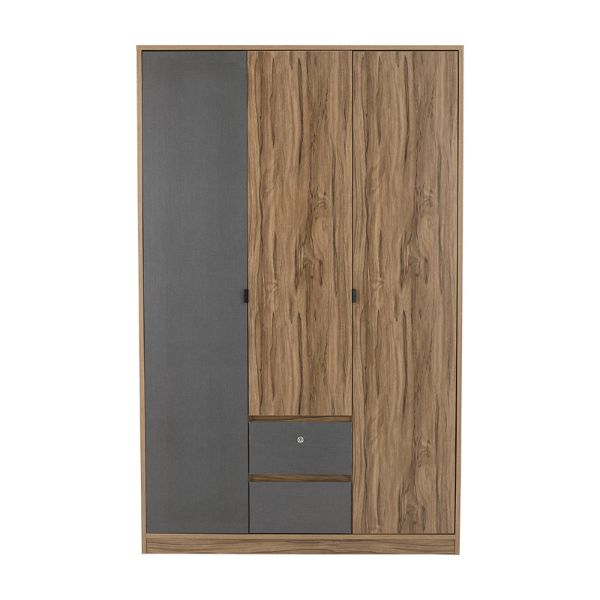 Picture of CO-SPENCER Wardrobe 3dr. TBN/TGY