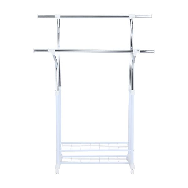 Picture of MEV Double-bar drying rack H170cm SVC/WT