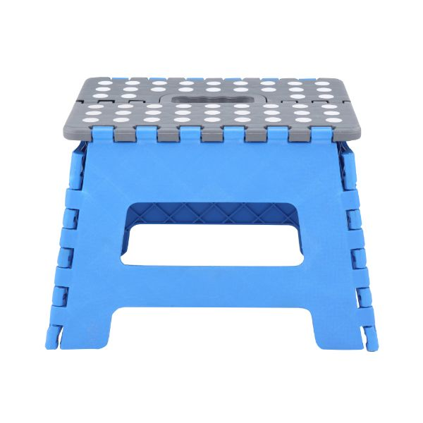 Picture of SEPTO/B Folding step stool H22cm. BL/GY
