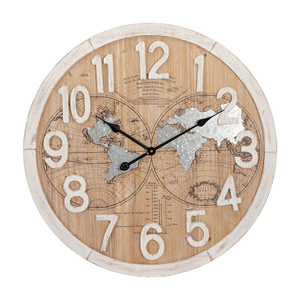 """Picture of NATHANIEL Wall Clock 27.5"""" MTC"""