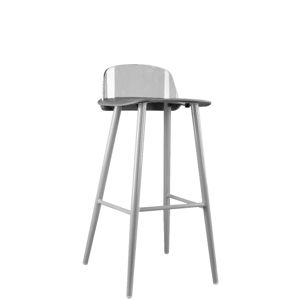 Picture of DC-X094B/PC barstool GY#8