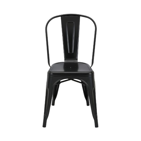 Picture of MC-001A metal chair MATT BLACK