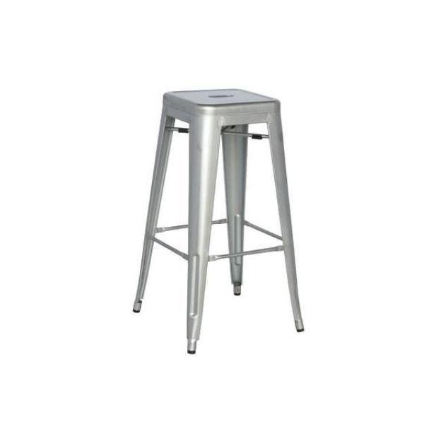 Picture of MC-011T bar stool GUNMETAL