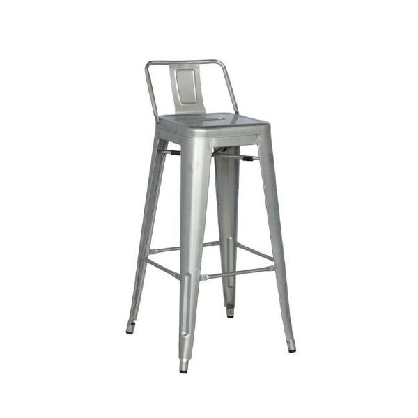 Picture of MC-011PT bar stool GUNMETAL
