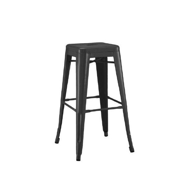 Picture of MC-012 bar stool MATT BK