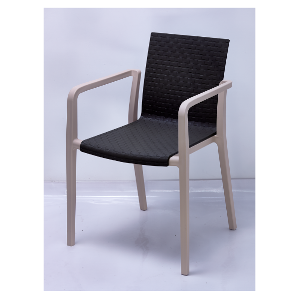 Picture of 264-APP plastic chair BK#03