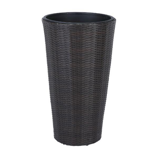 Picture of WORIATON Wicker plant pot H75cm DBN