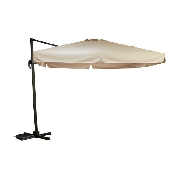 Picture of CAPUA Hanging Parasol square 3x3M GY