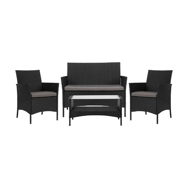Picture of PORTA Outdoor sofa set BK/GY