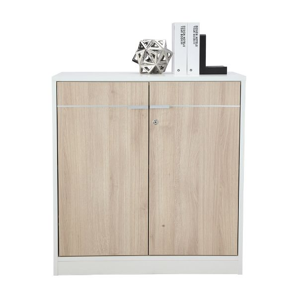 Picture of VECTRA -P 2 Door low cabinet 80 cm WT/MA