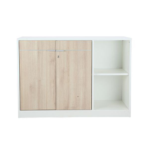 Picture of VECTRA -P2Door low cabinet 120 cm WT/MA