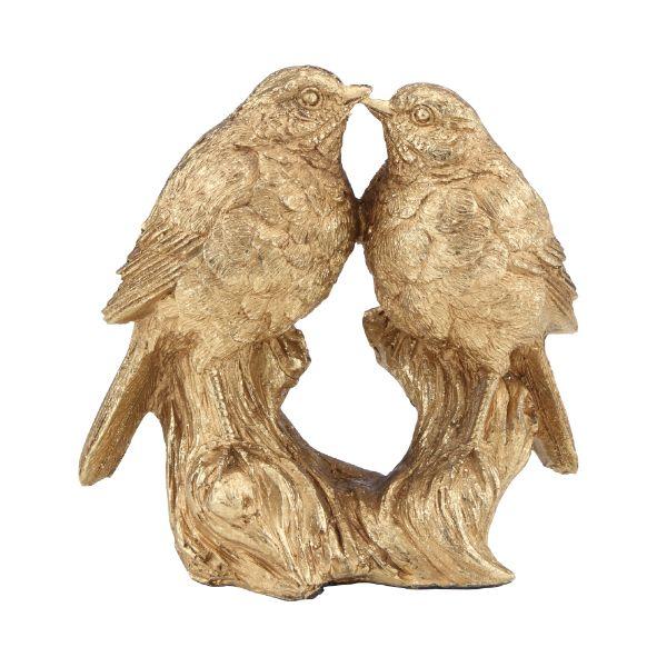 """Picture of AUSTYN Birds sculpture 6"""" GD"""
