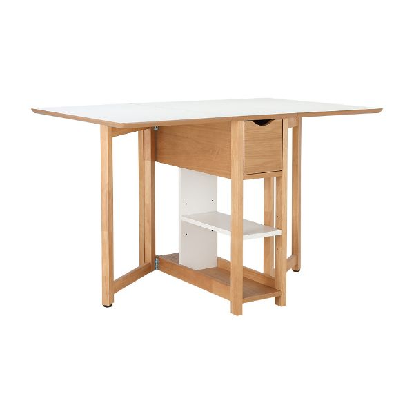 Picture of PLIER Extension table 120x80 CM WT/NT