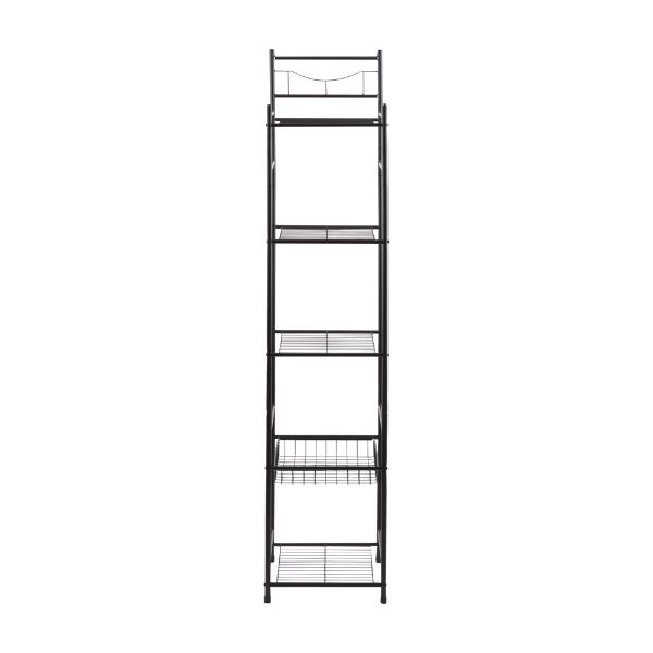 Picture of MARCEL 5-Tier bath shelf 33x34x156 BK