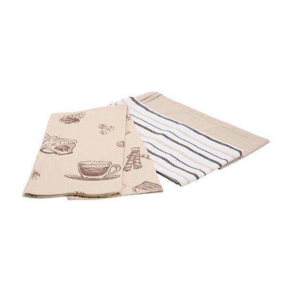 Picture of CAFFINA Dish towel 3 pcs/set 45x65cm BN