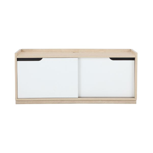 Picture of KARLSTAD TV cabinet 120 CM LO/WT