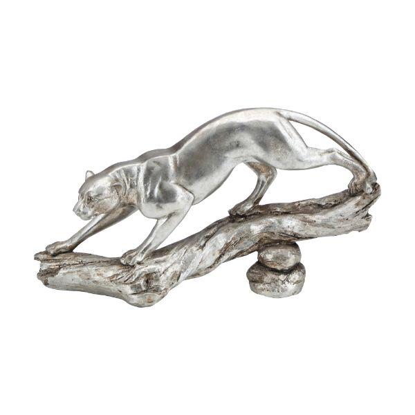 "Picture of LUCULLUS Leopard sculpture 12"" SV"