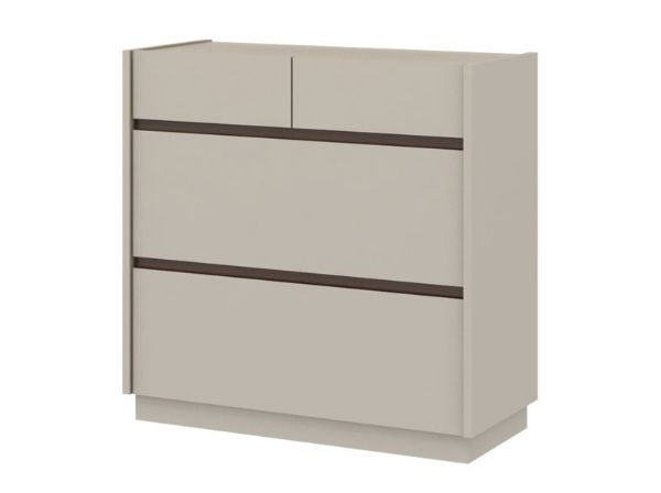 Picture of PALLAZO -P Chest 4drawers 80 cm. SS